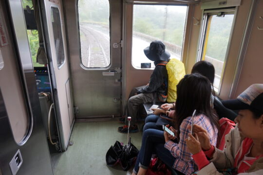 From Qing Tong Train Station to Shifen